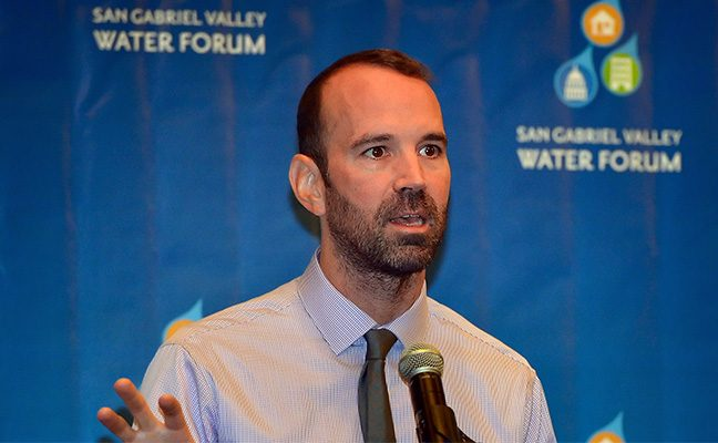 Prof. Alex Hall discusses impacts of climate change on water resources in the L.A. region.