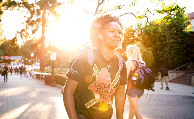 Over 80% of UCLA transfer students come from community colleges within California.